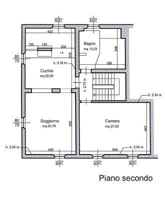 Planimetria 5/5 per rif. M1520
