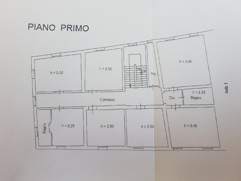 Villa singola in vendita, rif. L054 (Planimetria 2/2)