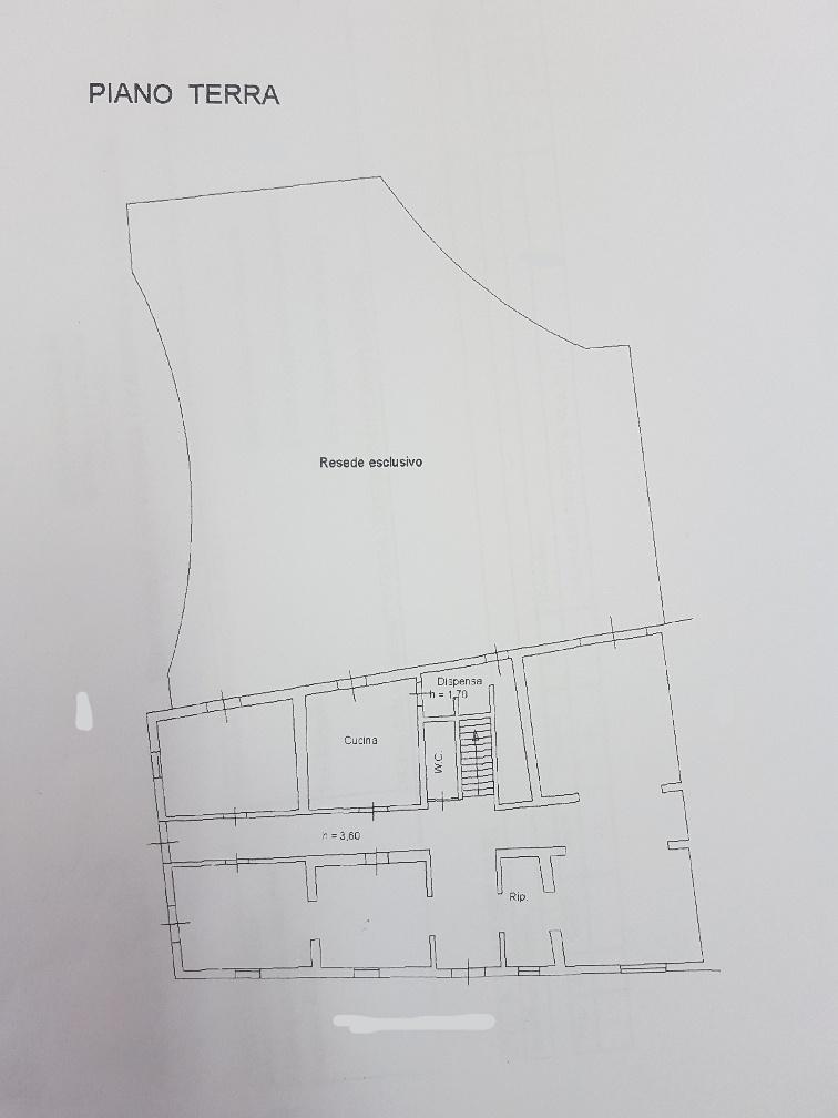 Villa singola in vendita, rif. L054 (Planimetria 1/2)