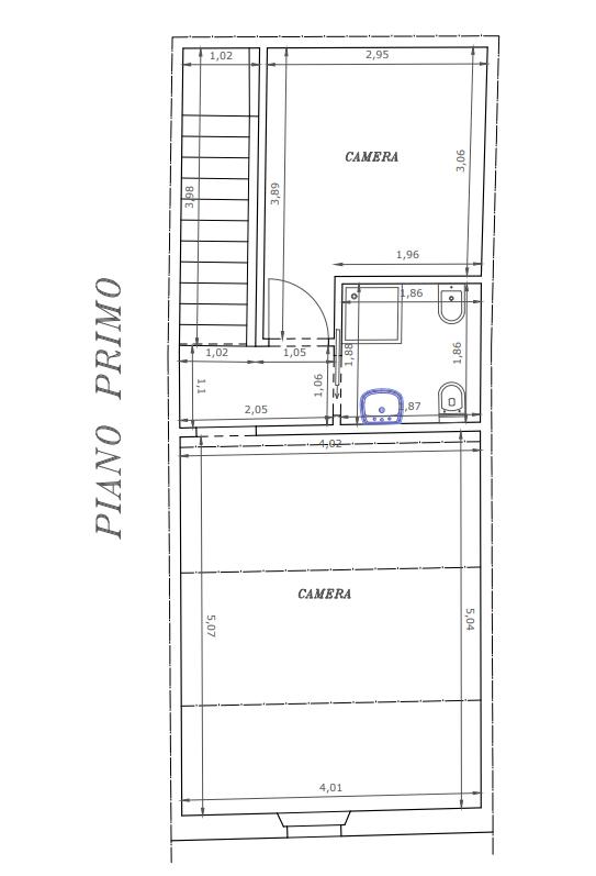 Planimetria 2/2 per rif. M1576