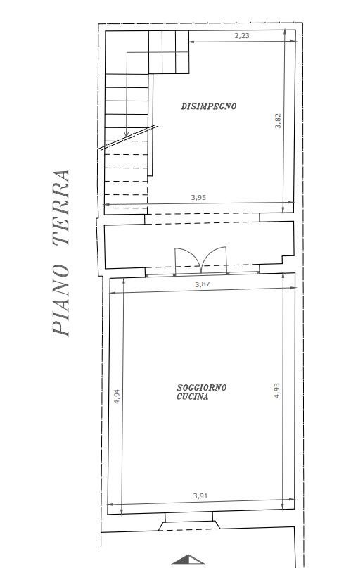 Planimetria 1/2 per rif. M1576