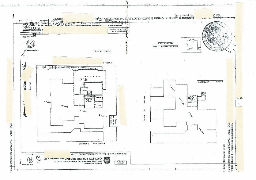 Planimetria 1/1 per rif. 19