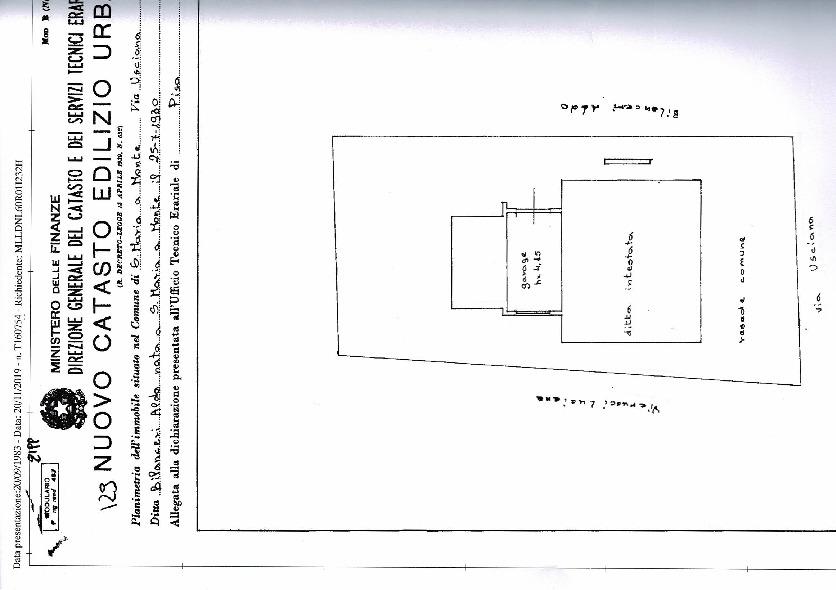 Planimetria 1/1 per rif. 67