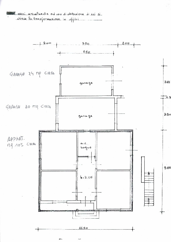 Planimetria 1/1 per rif. 69
