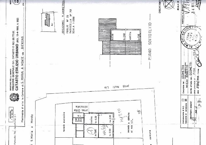 Planimetria 2/3 per rif. 71