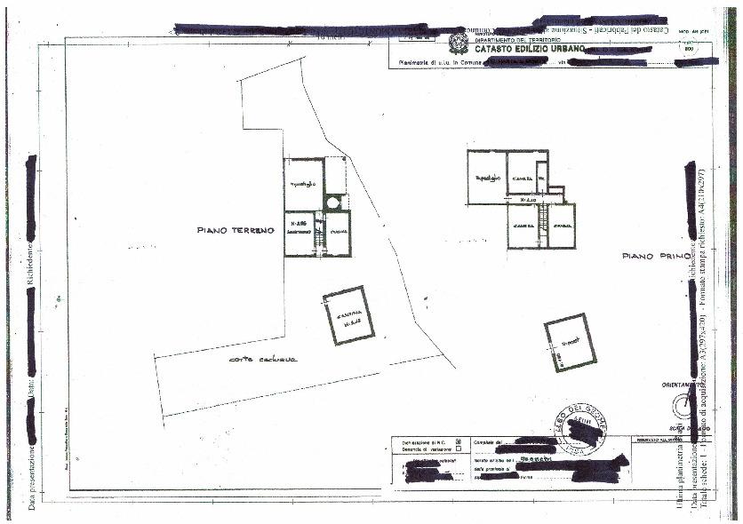 Planimetria 1/1 per rif. 18