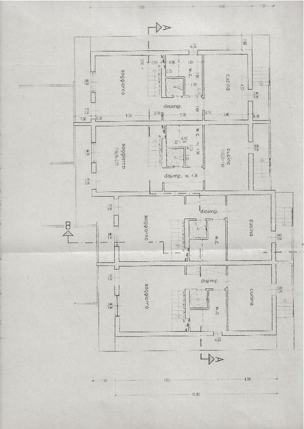 Planimetria 1/3 per rif. G08