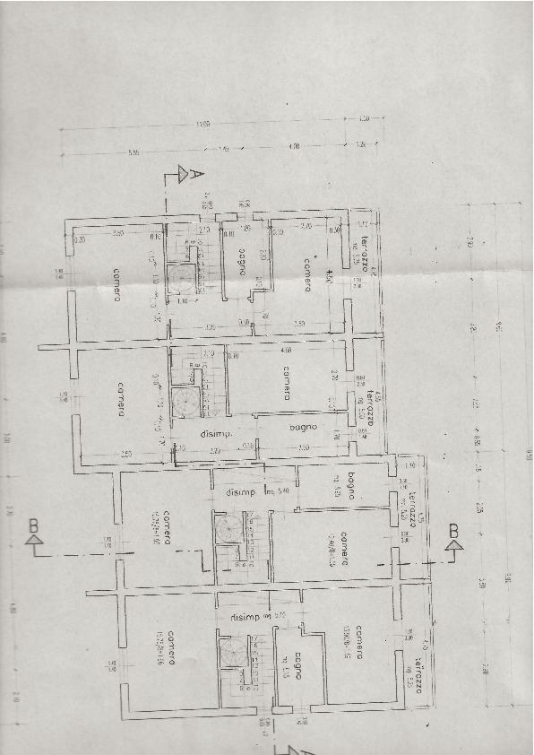 Planimetria 2/3 per rif. G08
