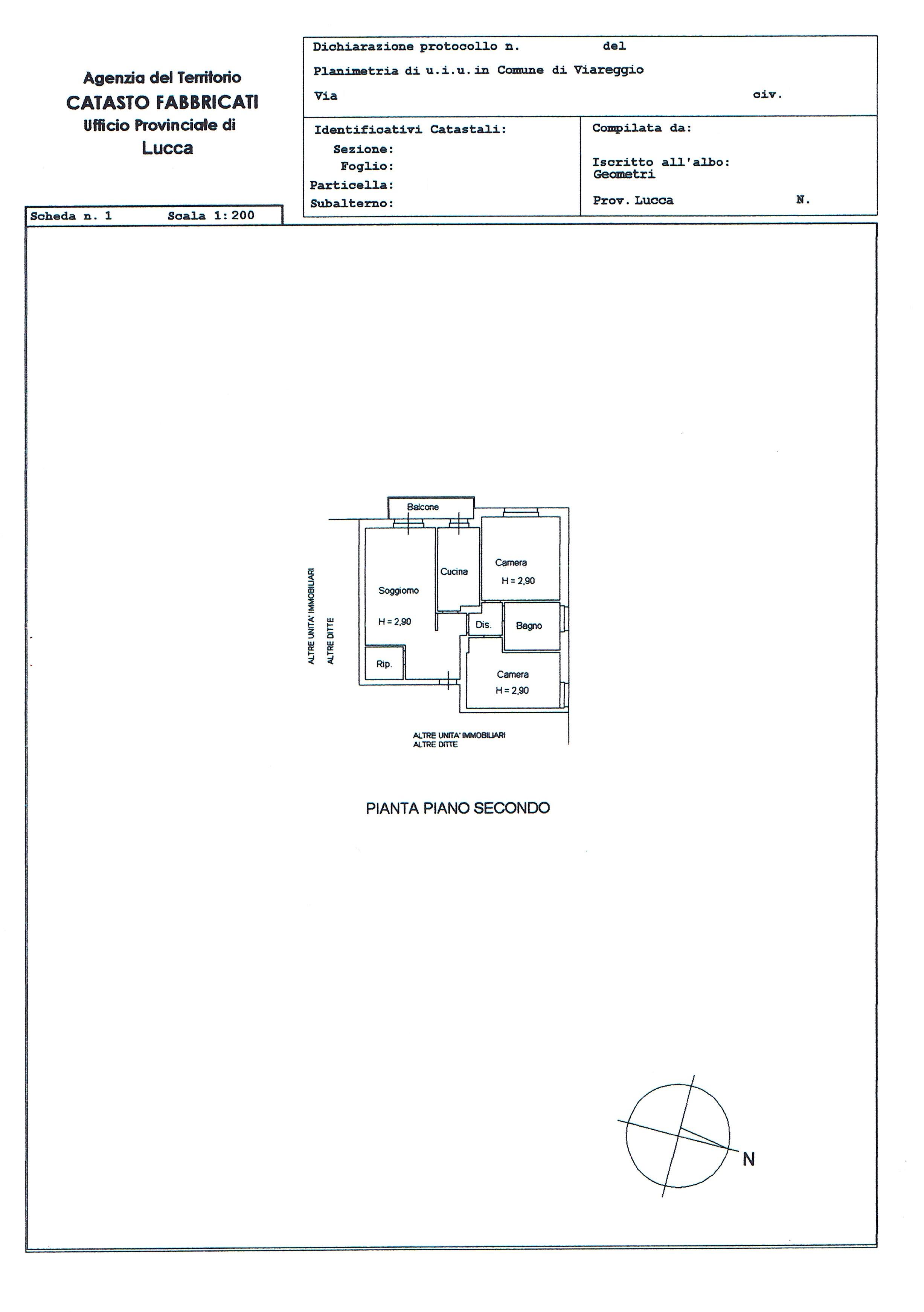 Planimetria 1/2 per rif. 2679V2