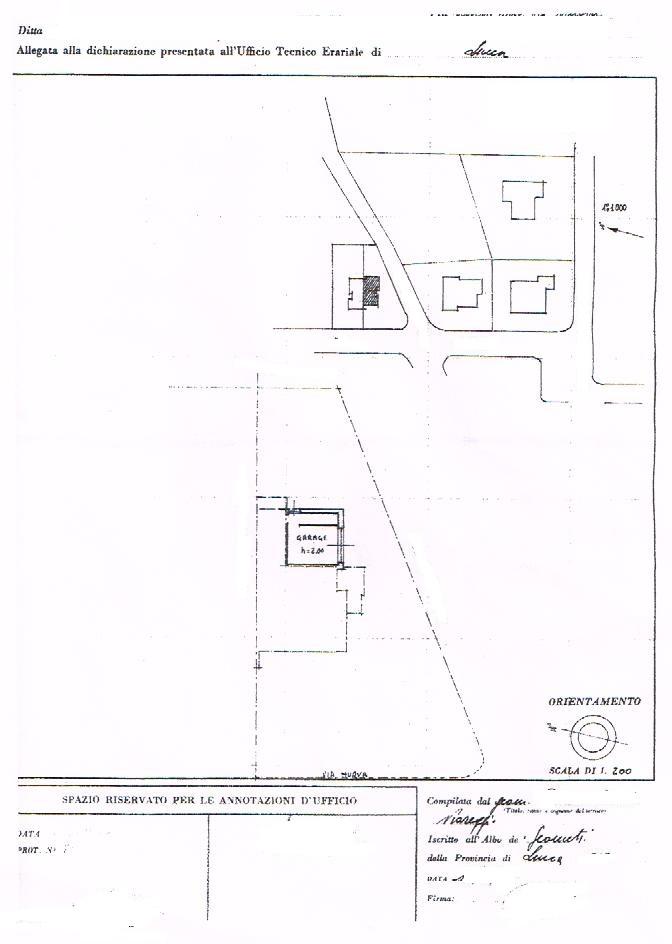 Planimetria 2/2 per rif. 1953V1