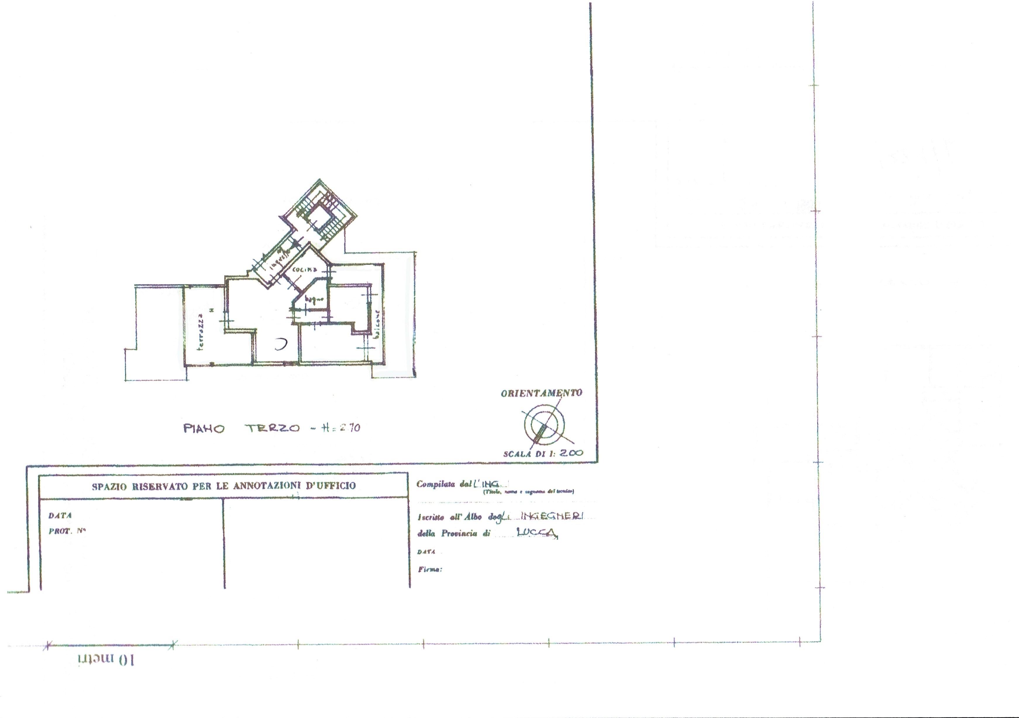 Planimetria 1/1 per rif. 2354V2
