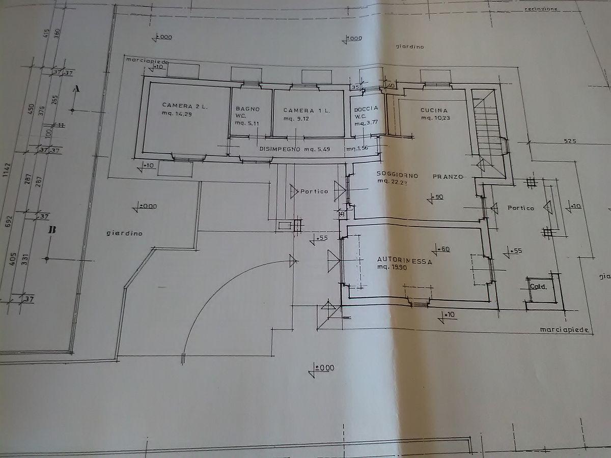 Planimetria 1/3 per rif. 2854CP