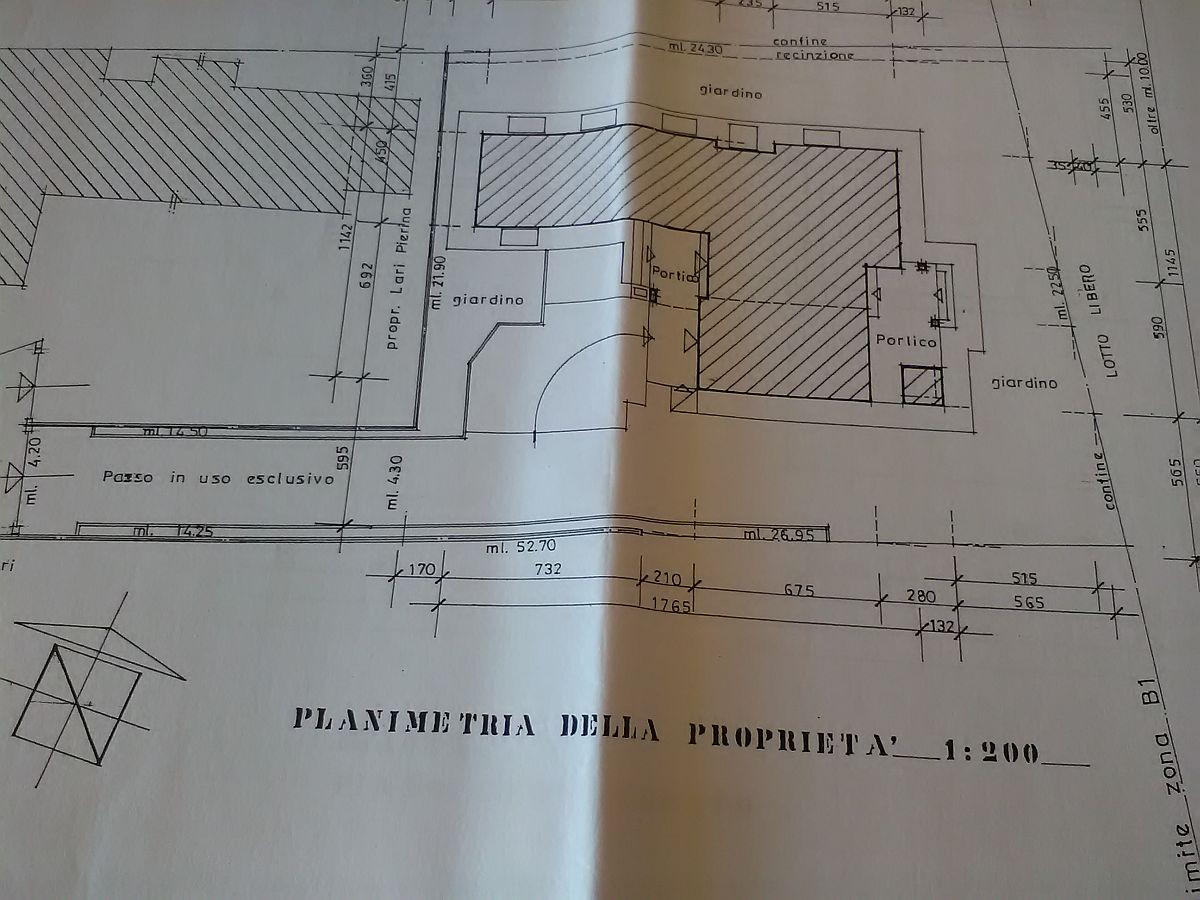 Planimetria 3/3 per rif. 2854CP