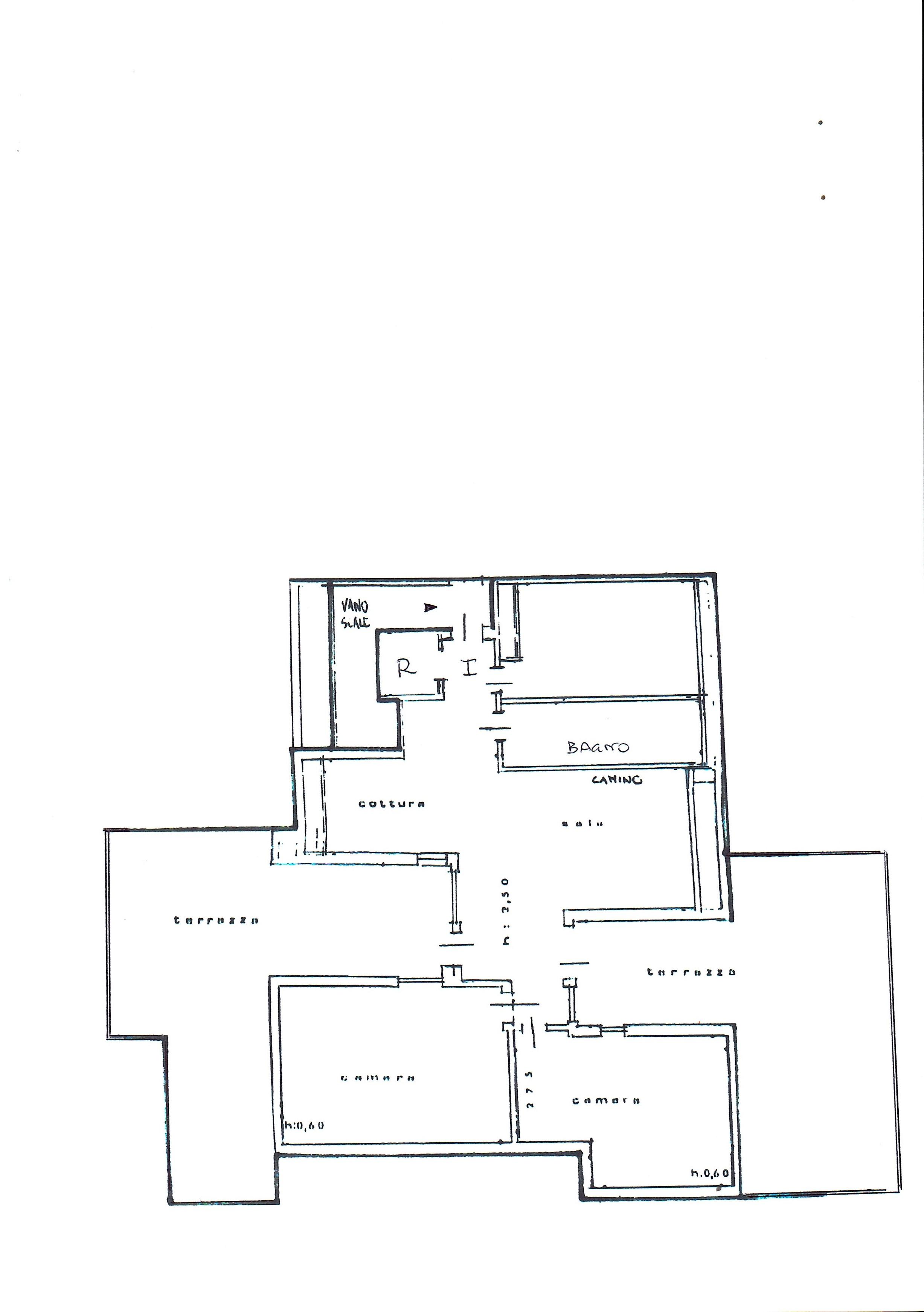 Planimetria 1/1 per rif. 3028V2