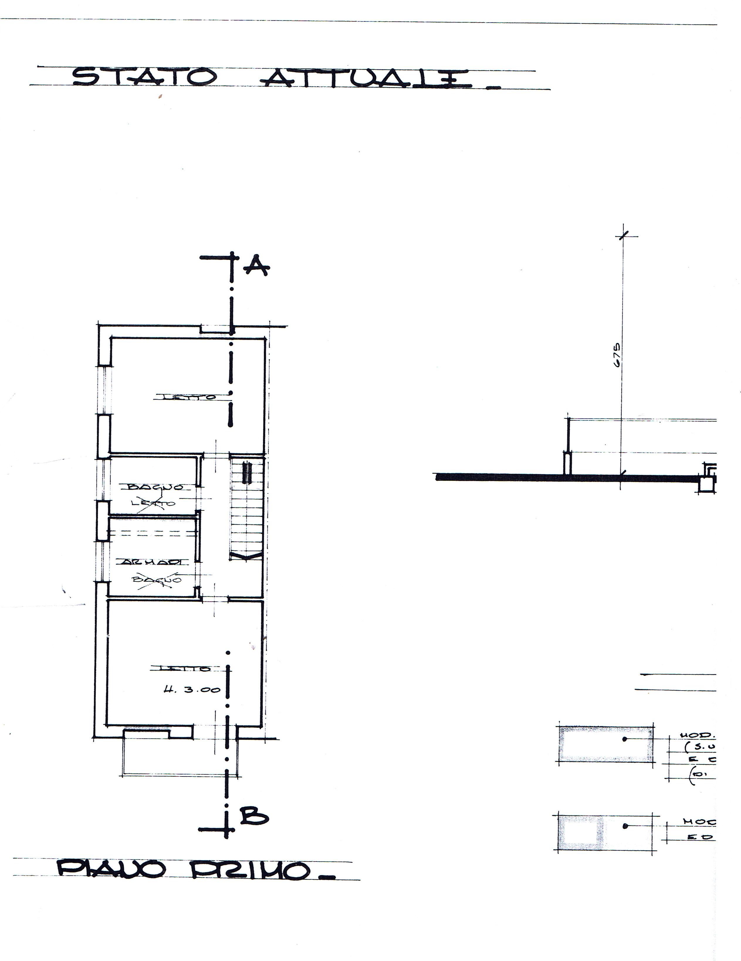 Planimetria 2/5 per rif. 2911V2