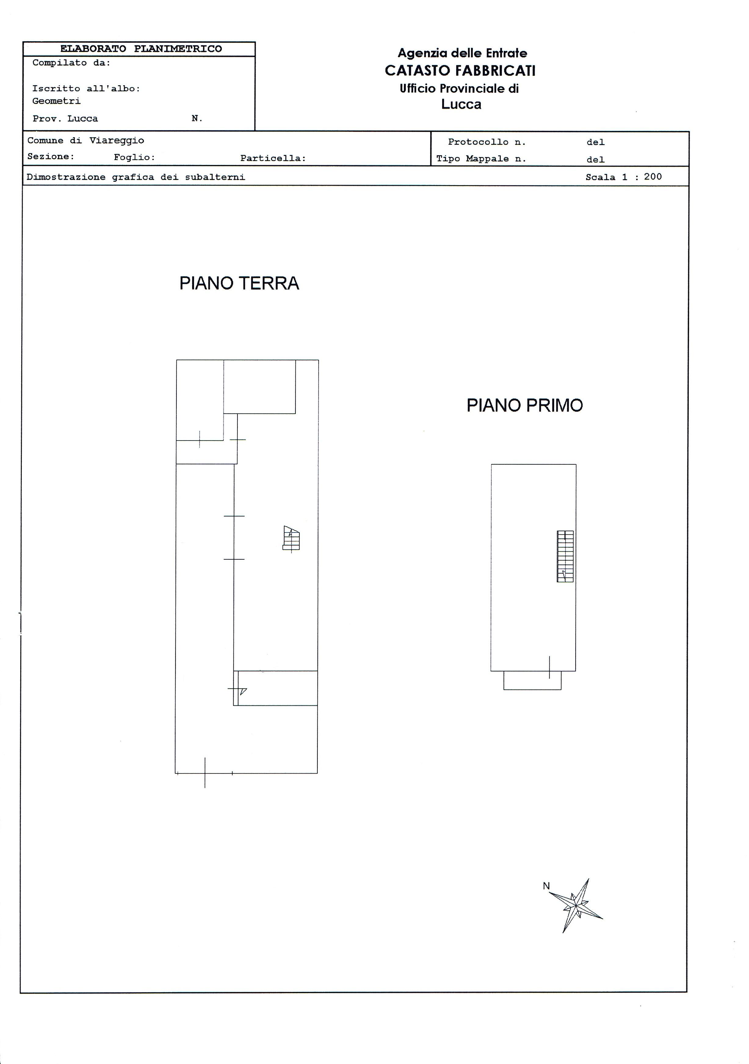 Planimetria 5/5 per rif. 2911V2