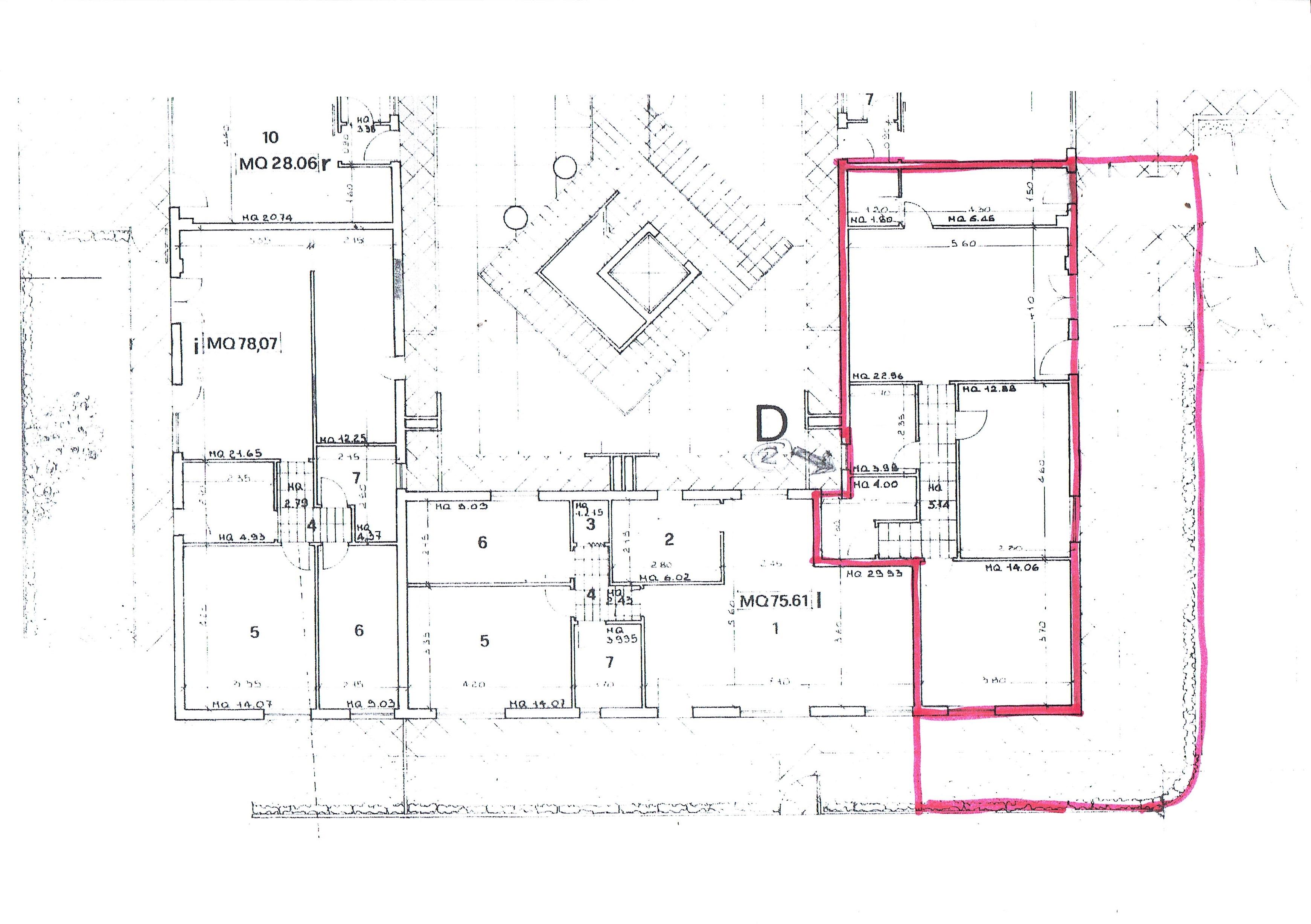 Planimetria 3/3 per rif. 3070V4