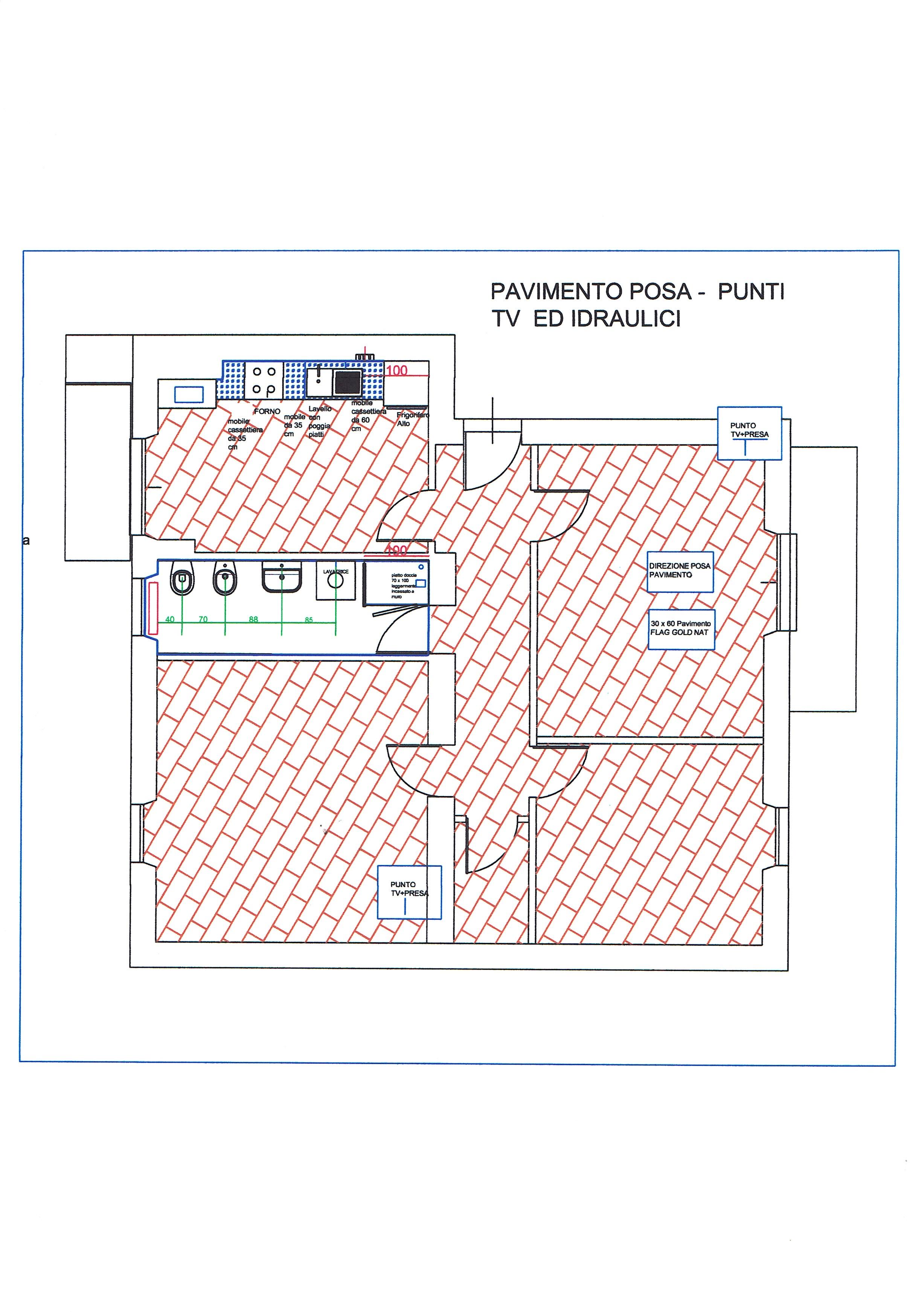 Planimetria 1/2 per rif. 3138V3