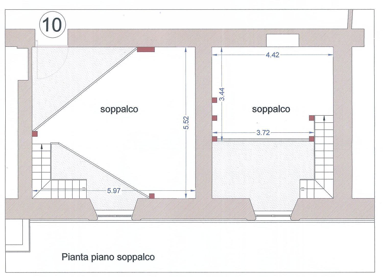 Planimetria 2/2 per rif. 3158V3