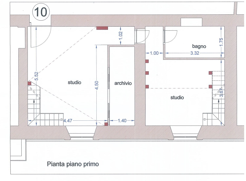 Planimetria 1/2 per rif. 3158V3