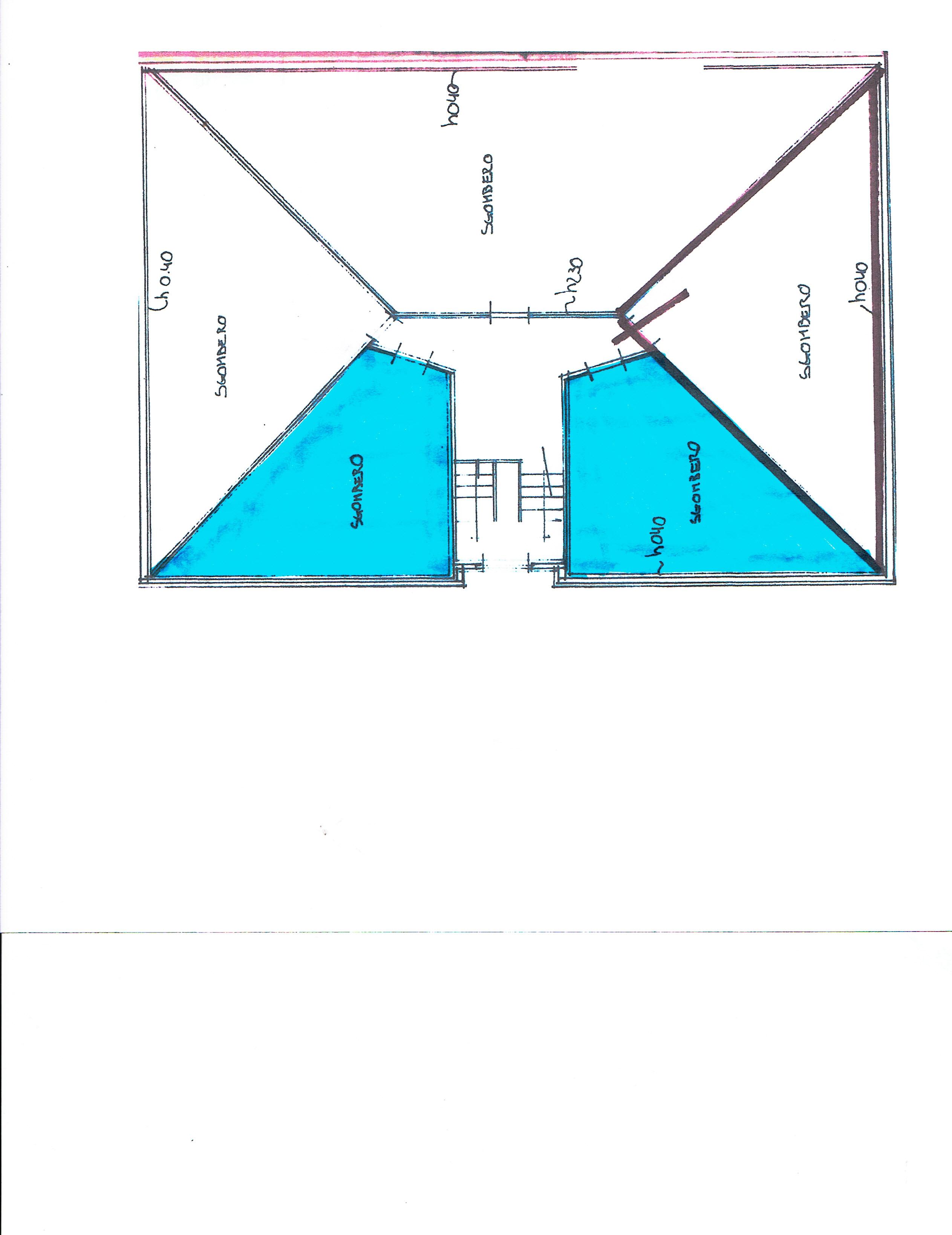 Planimetria 2/2 per rif. 3166V4