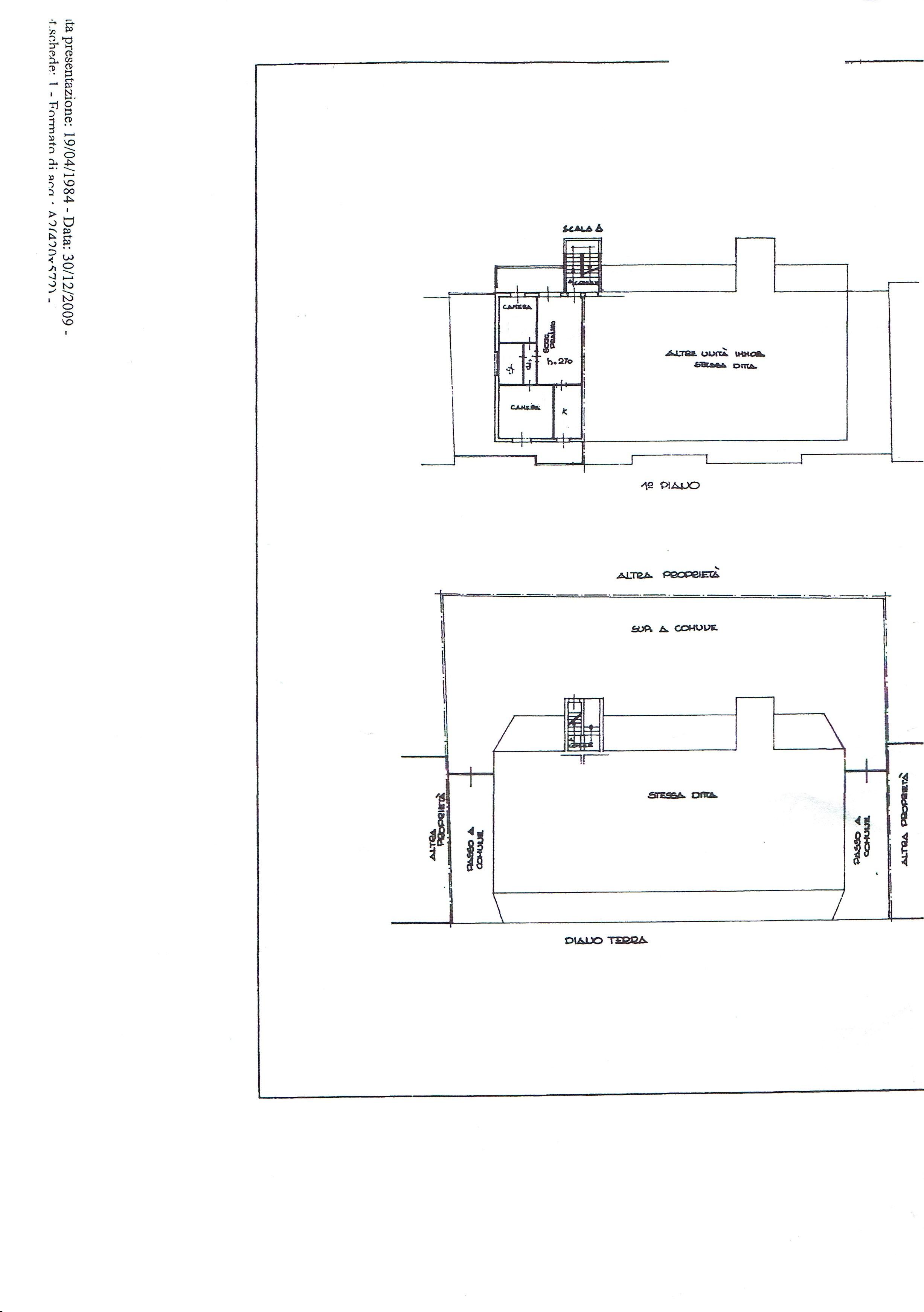 Planimetria 2/2 per rif. 3206V3