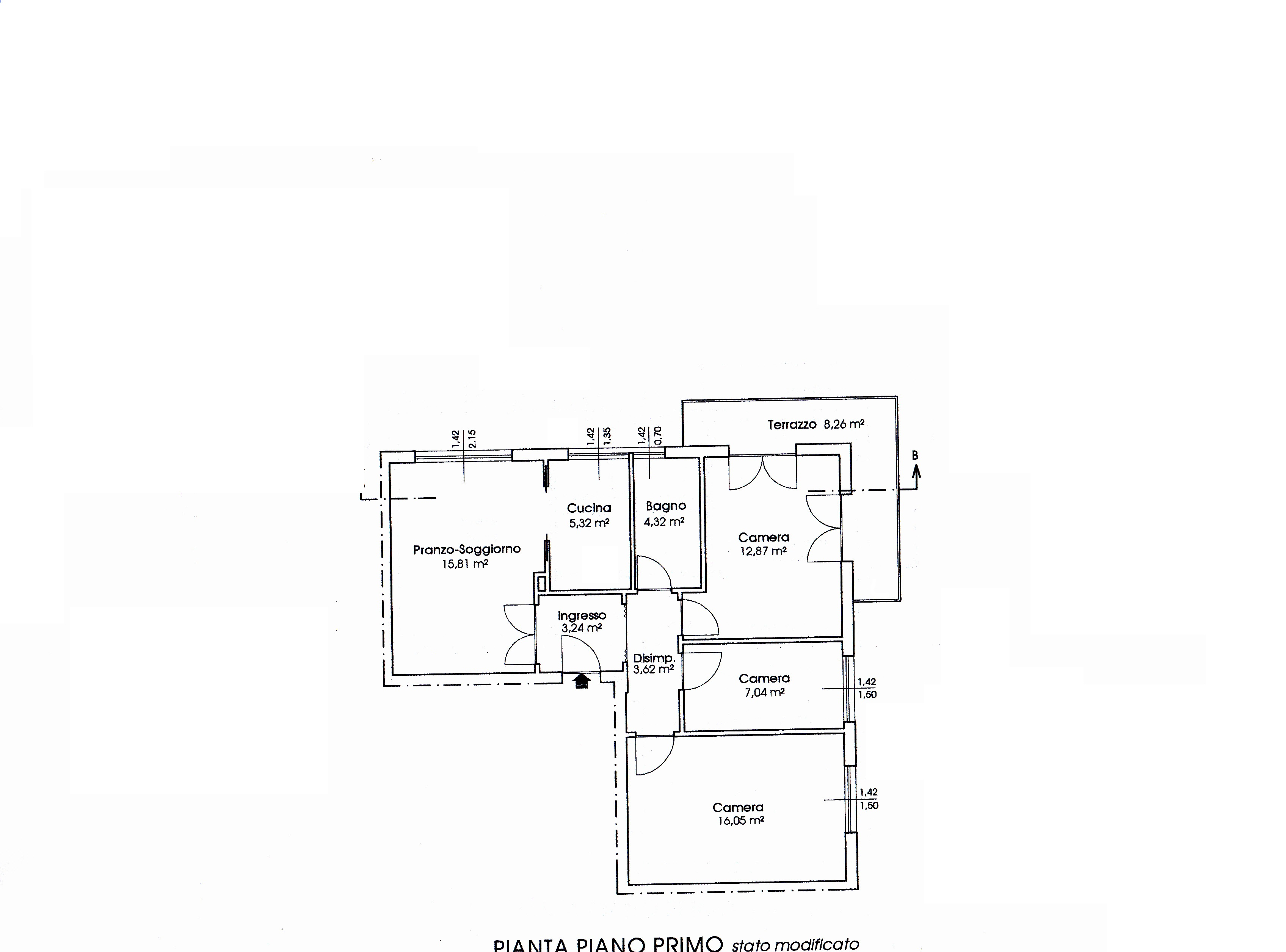 Planimetria 1/1 per rif. 3208V2