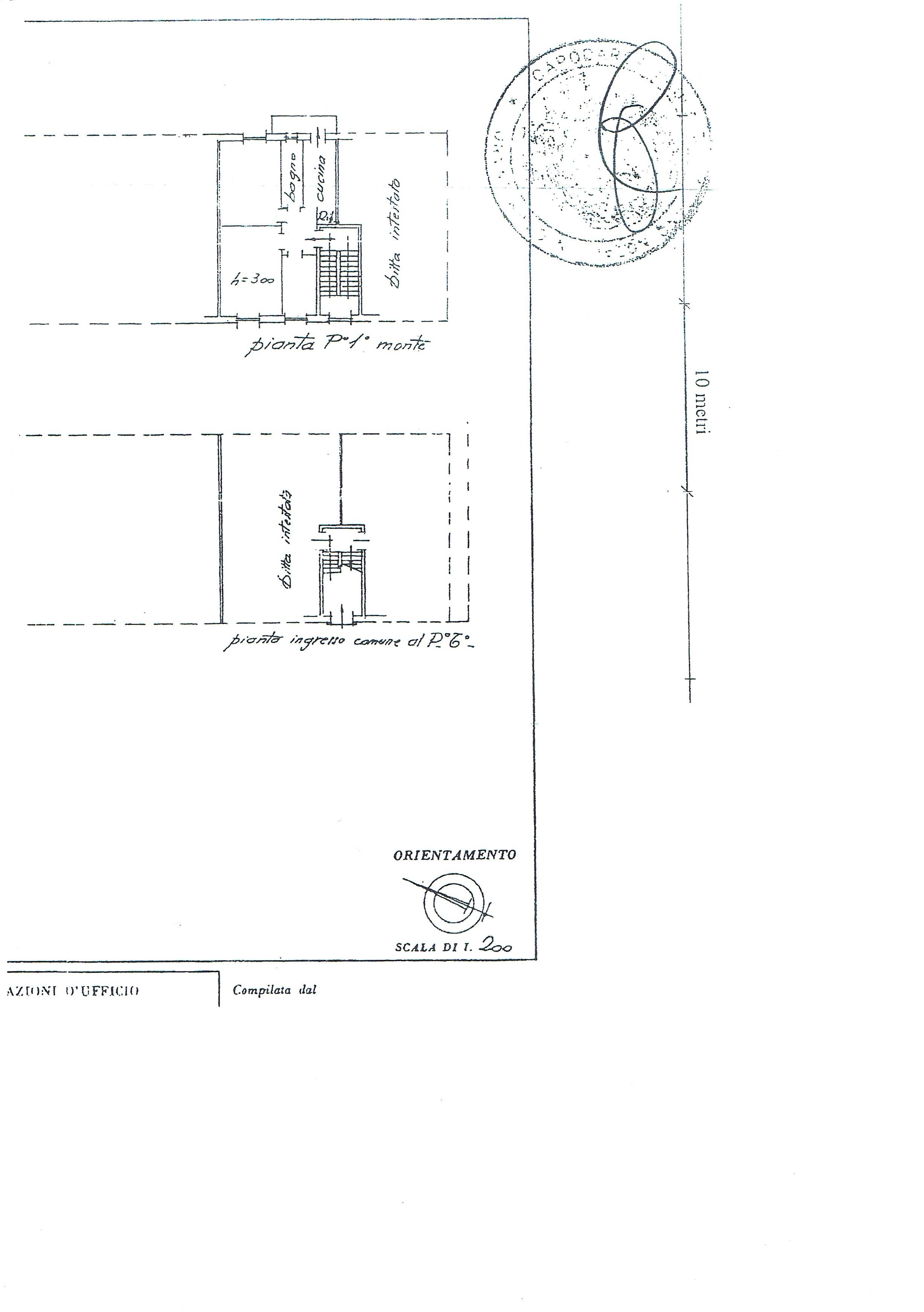 Planimetria 1/1 per rif. 3217V3