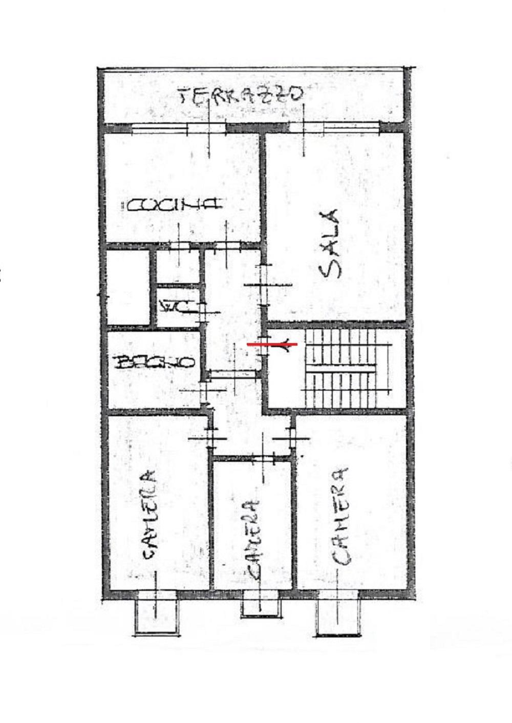 Planimetria 1/1 per rif. 3218V3