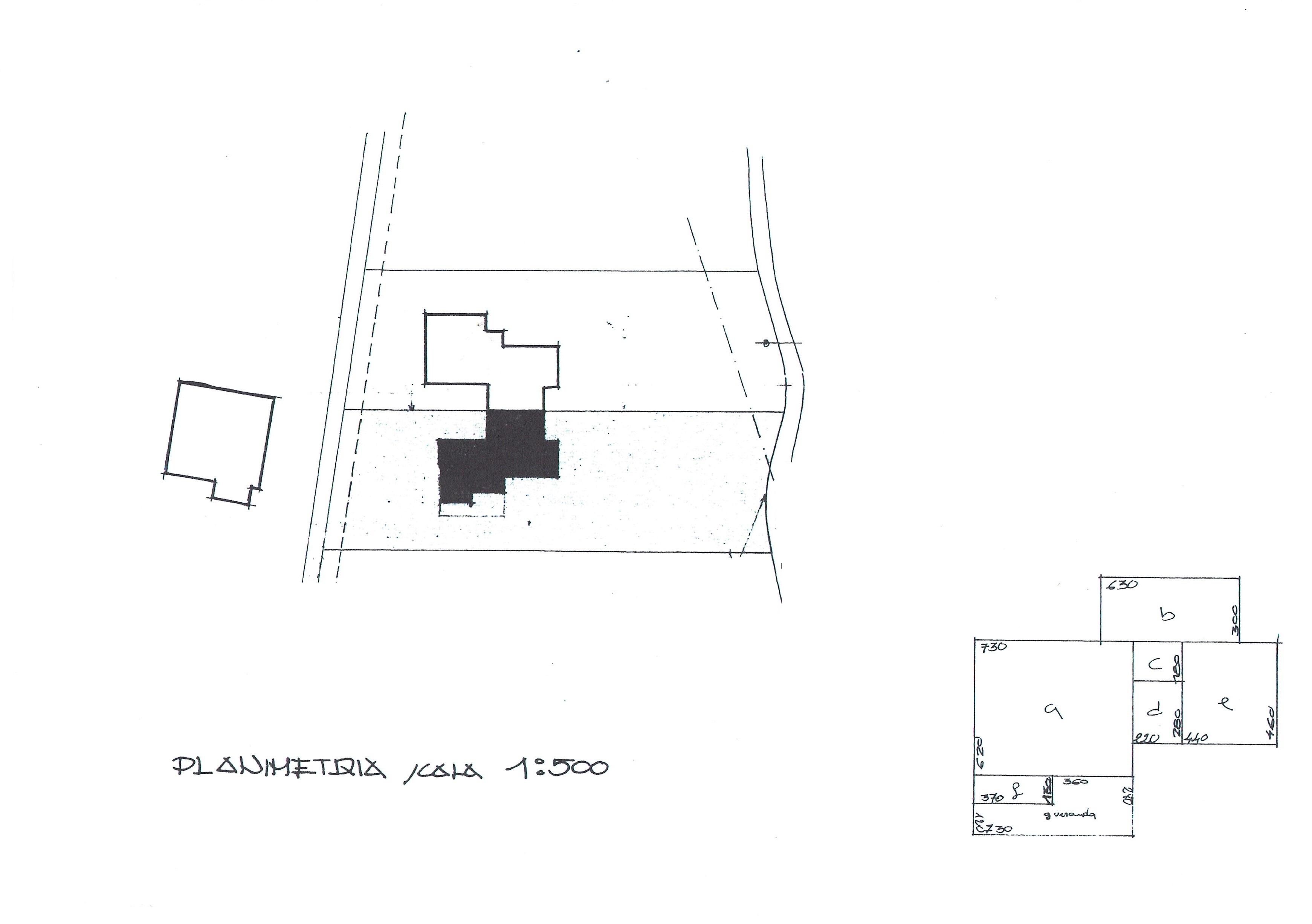 Planimetria 2/7 per rif. 1371M2