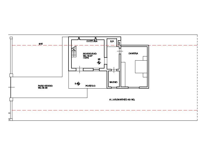 Planimetria 4/4 per rif. 3247M1