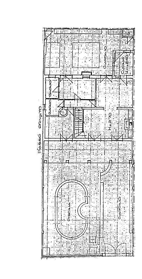Planimetria 3/4 per rif. 561MP