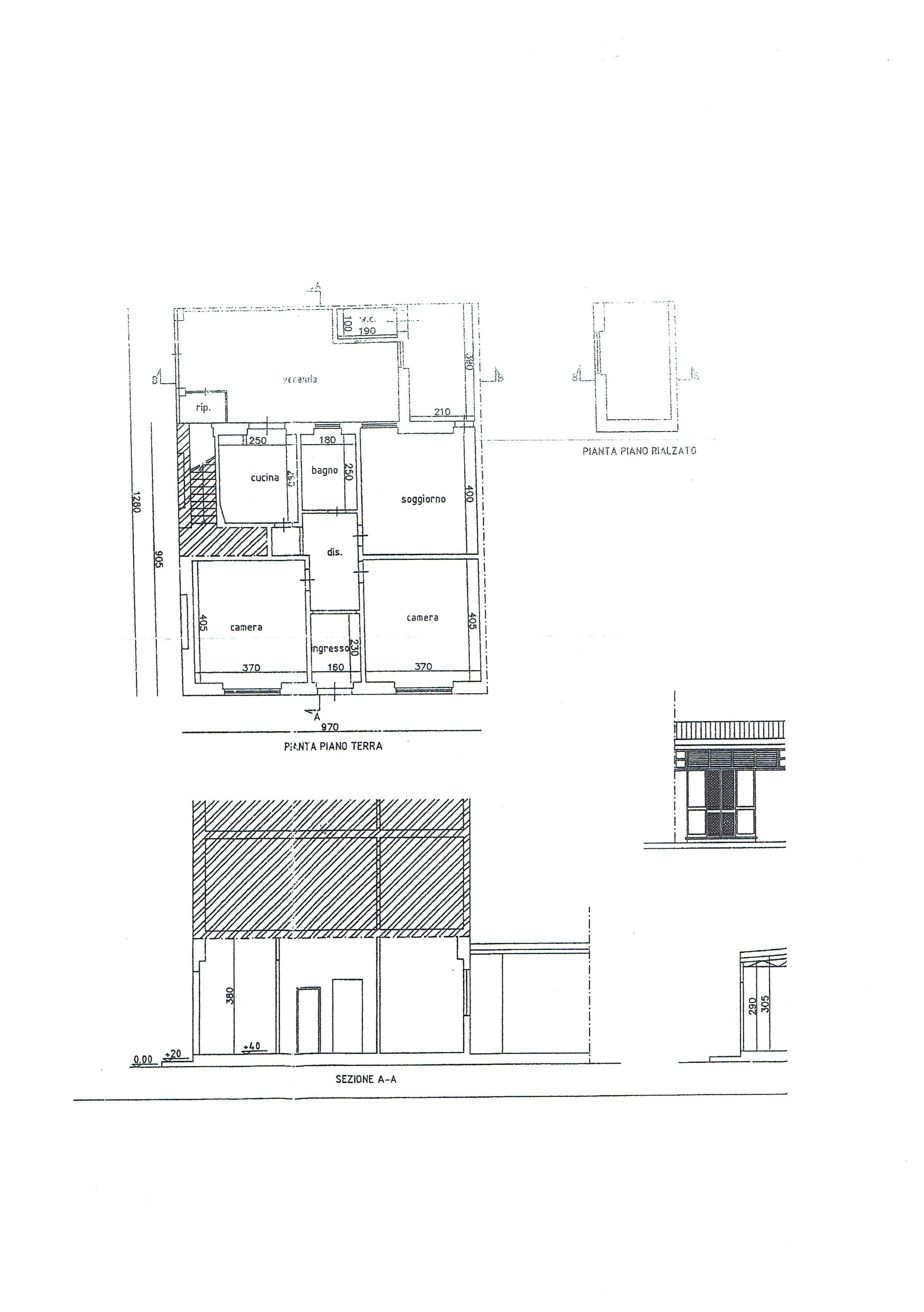 Planimetria 1/1 per rif. 3204V3