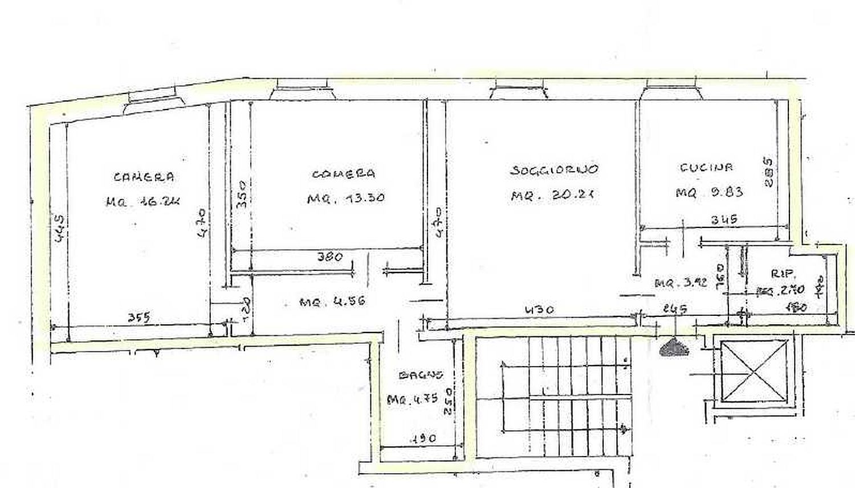 Planimetria 1/1 per rif. 3228C2