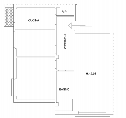 Planimetria 1/1 per rif. 3230V2
