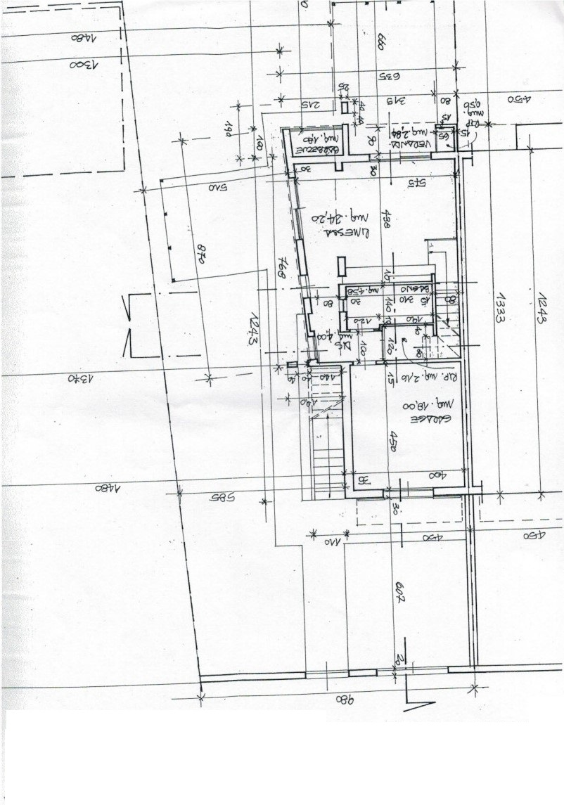 Planimetria 1/4 per rif. 3226LC