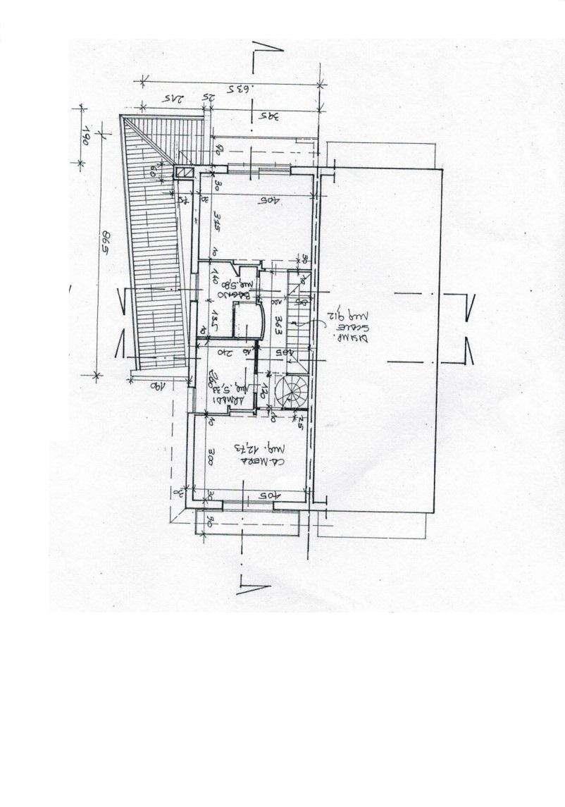 Planimetria 3/4 per rif. 3226LC