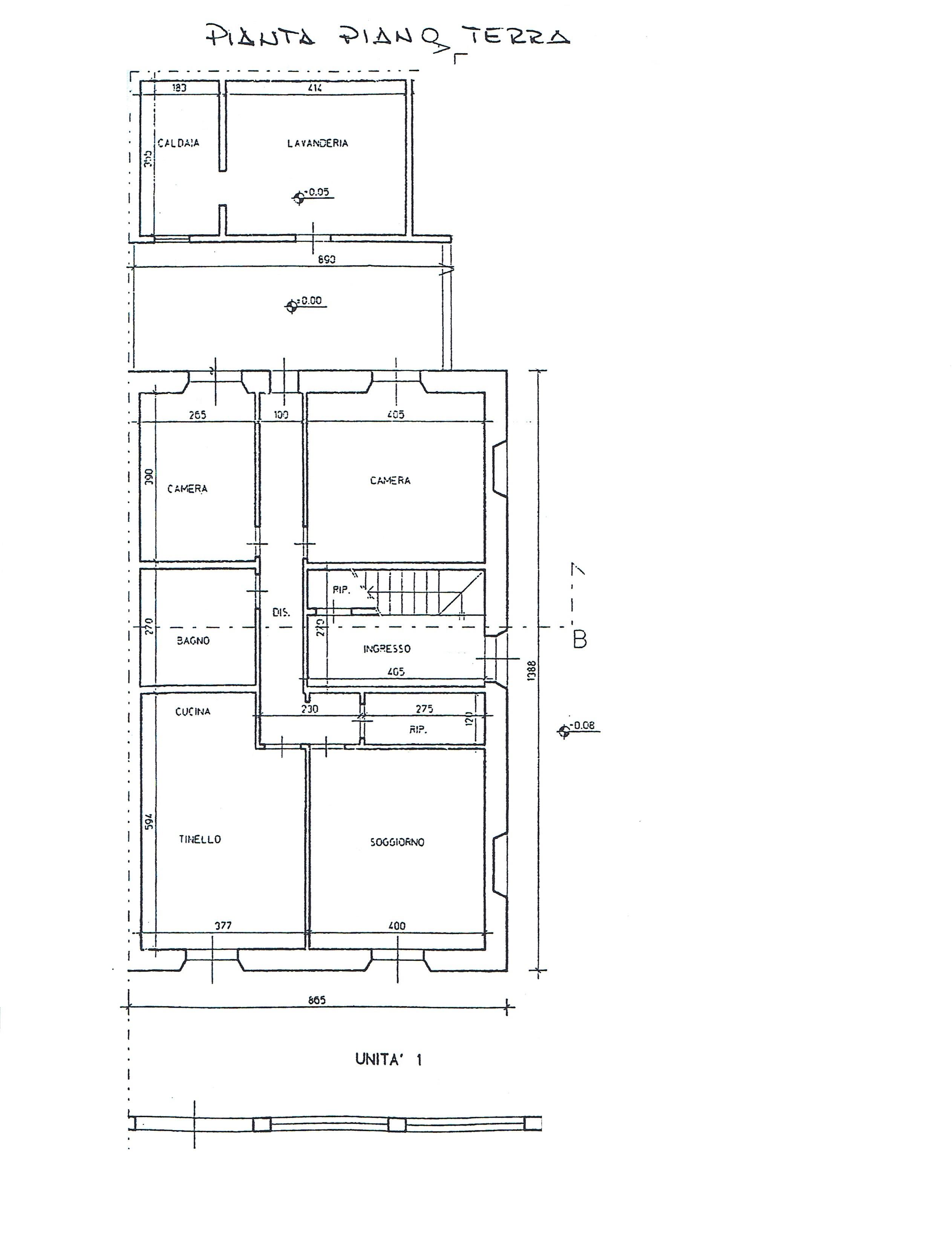 Planimetria 1/1 per rif. 2984V2