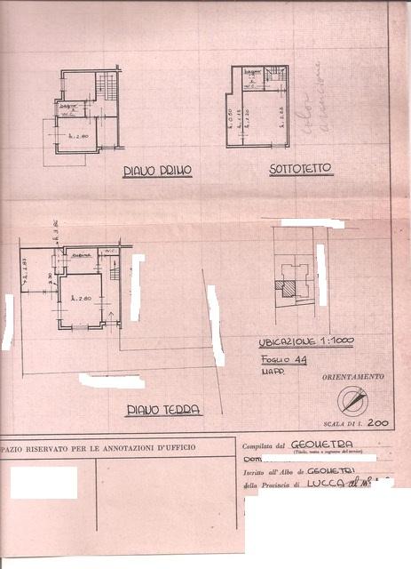 Planimetria 1/1 per rif. 3176V5