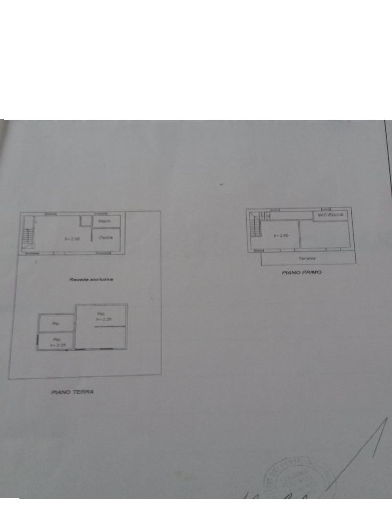 Planimetria 1/1 per rif. 2935CP