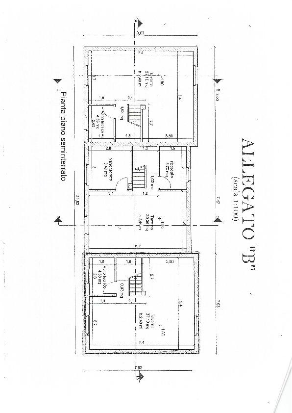 Planimetria 3/3 per rif. 3197CP