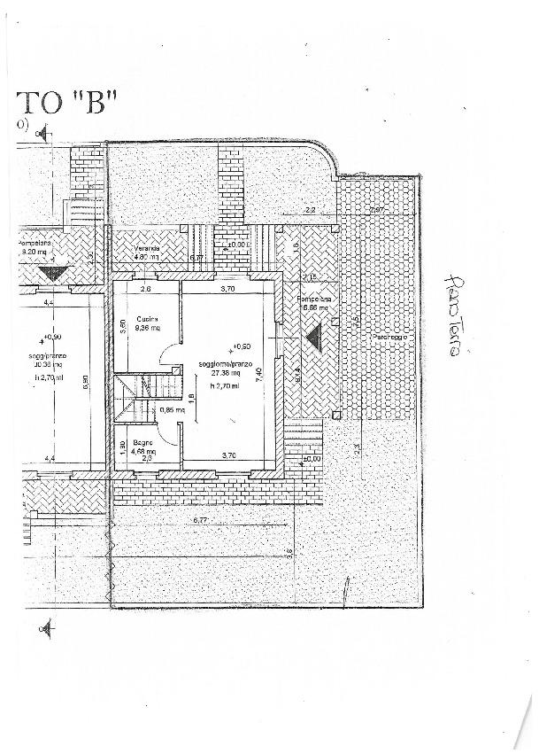 Planimetria 1/3 per rif. 3197CP
