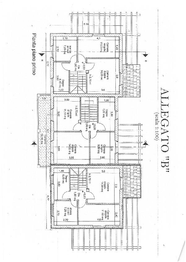 Planimetria 2/3 per rif. 3197CP