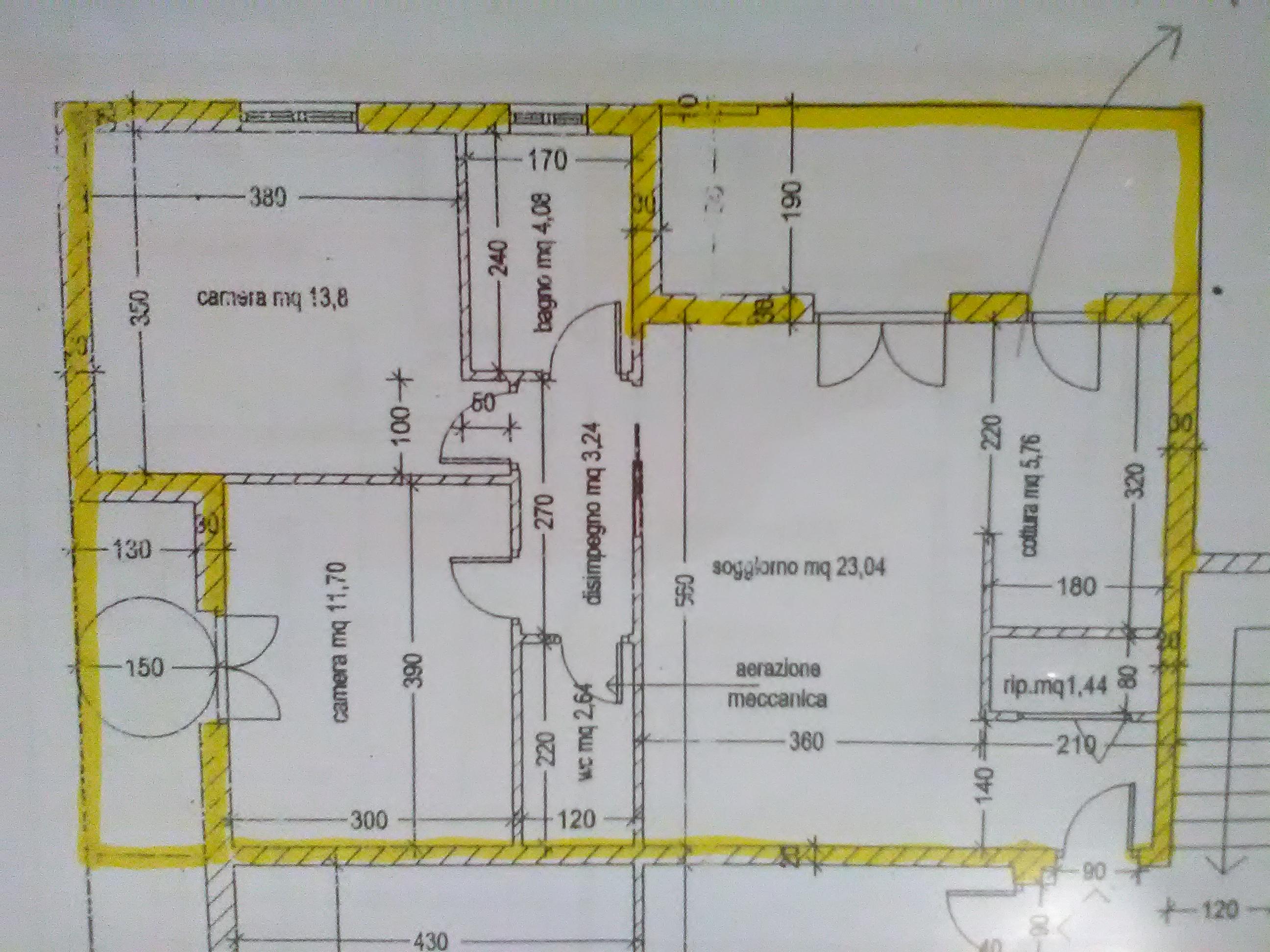 Planimetria 1/1 per rif. 3271V4