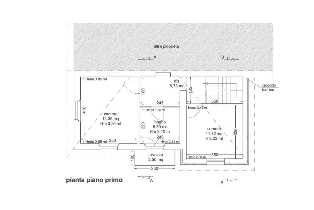 Planimetria 2/2 per rif. 3272CP