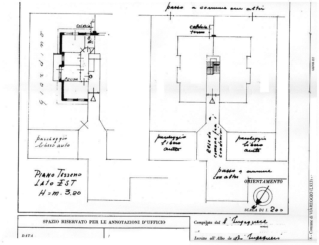 Planimetria 1/1 per rif. 3131V2