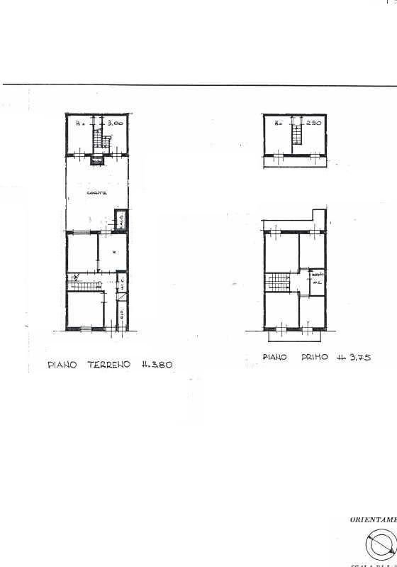 Planimetria 1/1 per rif. 3010V3