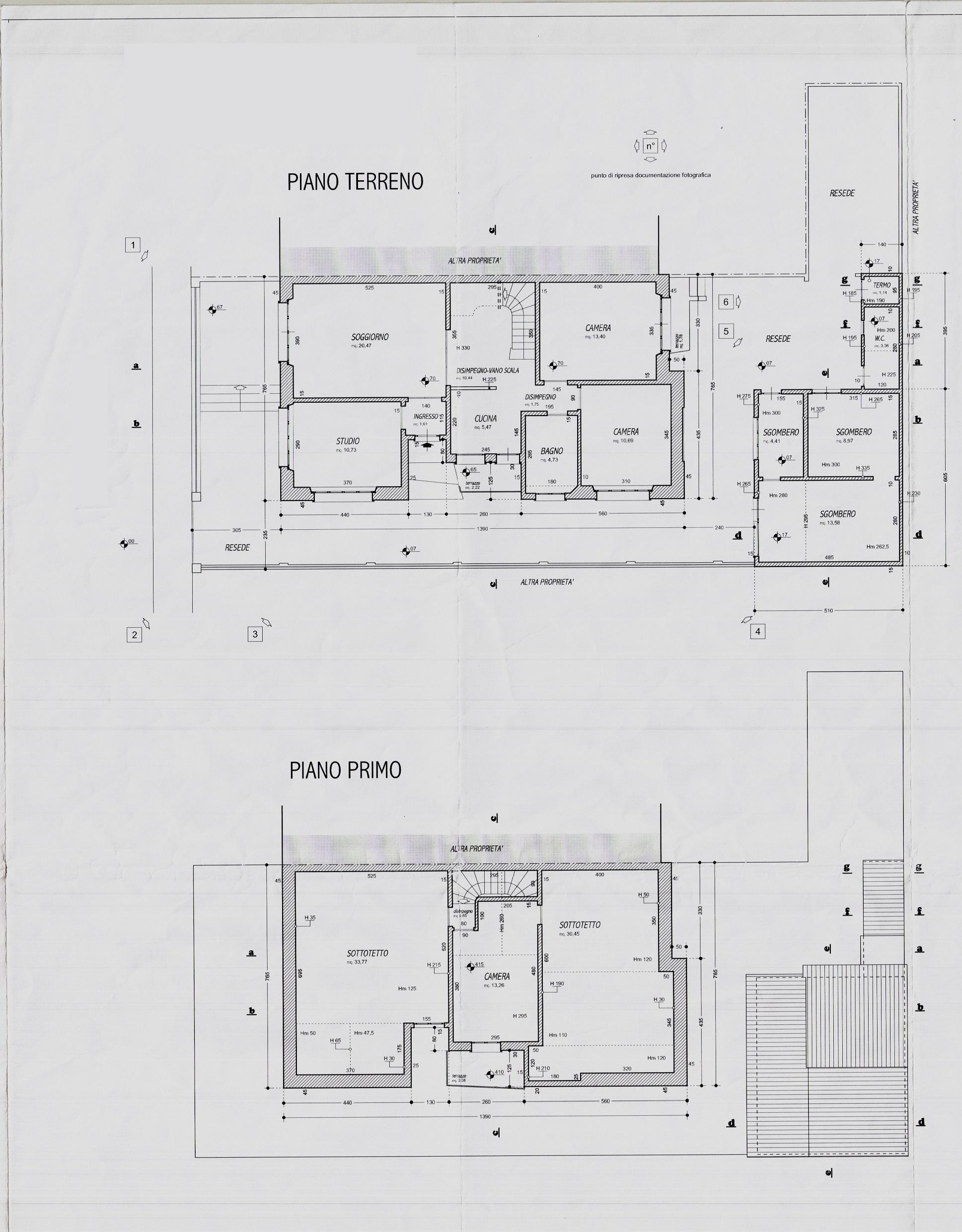 Planimetria 1/1 per rif. 2955V3