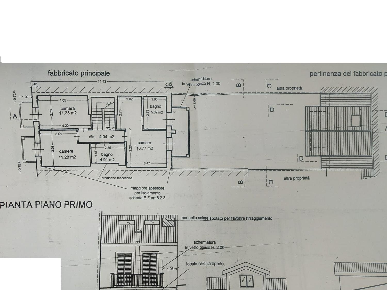 Planimetria 2/3 per rif. 3223V3