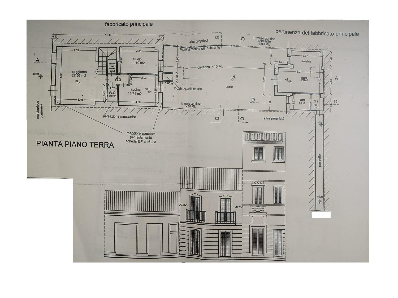 Planimetria 1/3 per rif. 3223V3